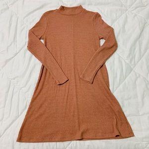 Forever 21 Mock Neck Dress XS